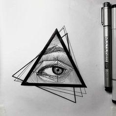 All seeing eye sketch for today ___ #frankcarrilhotattoo #portugaltattoo #Equilattera #inkstinctsubmission #iblackwork #inkme #skin_tattoos #tttism #blxckink #blacktattoing #blackworkers_tattoo #blackworkerssubmission #darkart #blacktattoo #blackworkartists #blackwork #blacktattoomag #blacktattooart #fineline #lineart #dotwork #tattooartistmagazine #linearttattoos #btattooing #onlyblackart #skinartmag #tattoorevuemag #TattooistArtMagazine#TAOT