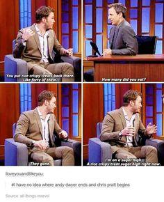 Chris Pratt is alsome
