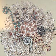 Marasu meets Mooka Fest #zentangle Tangled, Zentangle, Workshop, Atelier, Rapunzel, Zentangle Patterns, Work Shop Garage, Zentangles