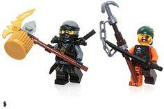 Amazon.com: LEGO Ninjago Minifigure Combo - Cole and Bucko (Limited Edition Foil Bags): Toys & Games Ninjago Cole, Lego Ninjago, Educational Toys, School Supplies, Amazon, Games, School Stuff, Amazons, Riding Habit