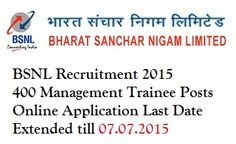 BSNL MT Recruitment 2015