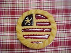 An All-American Berry pie from Candle Chef. http://facebook.com/candlechef