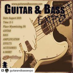 @bassmusicianmag #Repost @guitarandbassexpo #bassmusicianmag