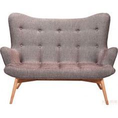 Sofa - Angels Wings Rhythm Brown  2-Seater - Kare Design
