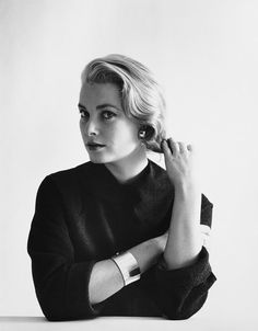 Grace Kelly, December 1954 by Mark Shaw