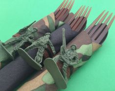 Items similar to PRINTBLE PDF Camo/ Army Theme DIY Party Package on Etsy