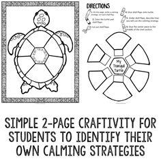 Coping Skills Wheel to help kids handle big feelings such