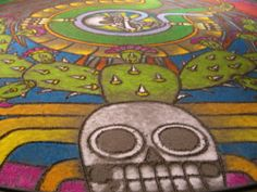 oaxaca sand paintings - Google Search