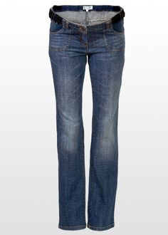 These straight leg pregnancy jeans are just the best fit ever! Casual Maternity, Maternity Jeans, Maternity Fashion, Just For Fun, Dusty Blue, Future Baby, Bump, Blue Jeans, Looks Great