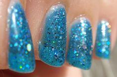 """My new favorite nail polish """"Gem Crush"""" by Sally Hanson"""
