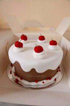 Cartoonish cake