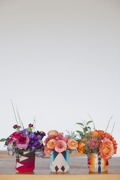 Modern Mexican wedding inspiration {love these planters} Our Wedding, Dream Wedding, Wedding Reception, Flower Studio, Little Black Books, Mexican Party, Wedding Beauty, Bunt, Floral Arrangements