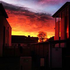 At home @haubentaucherat Instagram photos   Webstagram Northern Lights, Clouds, Celestial, Sunset, Nature, Photos, Travel, Outdoor, Instagram