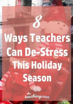 Need to de-stress over the holidays? Looking for lesson plans for your English class? 8 ways to de-stress over the holidays are in this post! 8 ways to relax and enjoy the holiday season. Need free English teaching printables? Join The Teaching Cove and a Teaching Grammar, Teaching English, English Class, Gcse English, Free Teaching Resources, Teaching Tips, Teaching Technology, Elementary Teacher, Elementary Education