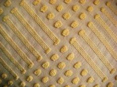 Morgan Jones Yellow Dot and Dash Vintage by AlorasAdorables, $14.95