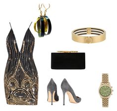 """""""Simplicity"""" by cole222 on Polyvore featuring Jimmy Choo, Gianvito Rossi, Michael Kors and Henri Bendel"""