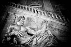 Roman gods on Capitoline Hill, one of the Seven Hills of Rome