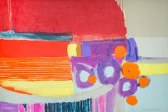 "Saatchi Art Artist Claire Desjardins; Painting, ""Fructose"" #art"