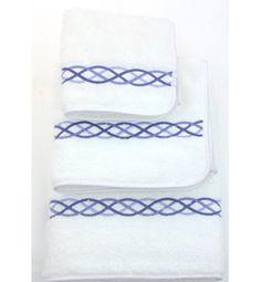 Blue Loop Towels
