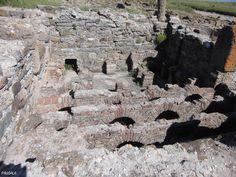 Termas urbanas. Siglos I-II dc. Conjunto Arqueológico de Baelo Claudia. Bolonia. Cádiz