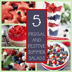 Friday's Frugal Five: 4th Of July Salads andSides