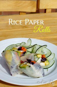 rice paper summer rolls1