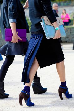 Street Style | Clutch Please | Click this pin for more details.