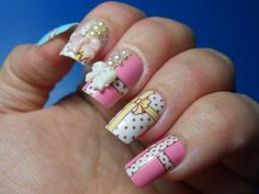 Lazy Lacquerista: Review of Gift Box by Liqi :: False Nails from Fancy Nails