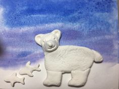 Polar Bears: Native American Art and Math Native Art, Native American Art, Multicultural Classroom, Snow Effect, Art Projects, Project Ideas, Art Lesson Plans, Watercolor Background, Art Activities