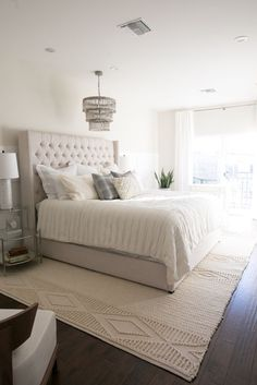 5 Marvelous Tips AND Tricks: How Much Does It Cost To Remodel A Master Bedroom And Bath remodel one bedroom.Bedroom Remodel On A Budget Fun how to remodel bedroom furniture. Cozy Bedroom, Bedroom Sets, Home Decor Bedroom, Bedroom With Couch, Bedding Sets, Target Bedroom, Beige Bedding, Peaceful Bedroom, Bedroom Neutral