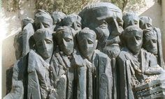 """Janusz Korczak """"...best known for his truly heroic final act: incarcerated in the Warsaw ghetto, with nearly 200 children from the orphanage he ran, he decided to refuse the offers of rescue he received from his Polish friends, and to accompany the children instead on their journey to Treblinka, and to certain death."""" - The Guardian"""