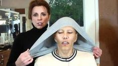 The Many Phases of Chemo Hair Loss - There Is Grace. How to make a head wrap with a T-shirt Chemo Hair Loss, Scarves For Cancer Patients, Chemo Care, Head Wrap Scarf, Head Scarf Tying, Head Scarfs, Head Scarf Styles, Old T Shirts, Head Wraps