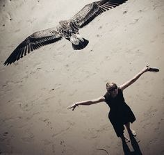 Don't forget you were once a creature who could fly
