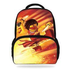 14Inch Kids Printing Backpacks Student Ninjago School Bag For Children Boys Girls School Backpack Bookbag