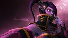 Download Lanaya the Templar Assassin Dota 2 Game Art Girl by Qassamzed 1920x1080