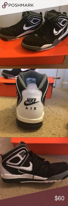 Nike Air Shoes They are size 9, worn once, and name brand Nike Shoes Athletic Shoes