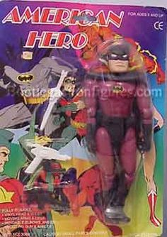 Bootleg Toys The Undiscoverd Playthings: American Hero Bootleg Toys