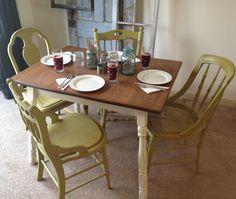 Vintage Retro 1950s Quot Kuehne Quot Dining Kitchen Formica Chrome
