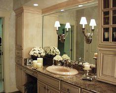 Charming Bathroom Sink & Vanity | plan 024D-0062 | houseplansandmore.com #bath #mirror #interior