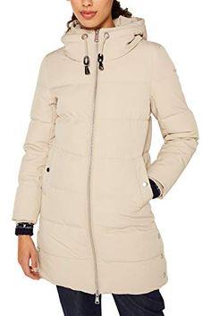 Femmes Transition Manteau Veste Trench Coat Capuche 38 40 M L Doublure Violet Chaud