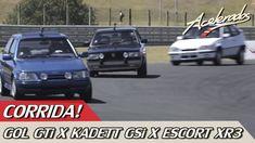 CORRIDA GOL GTi X KADETT GSi X ESCORT XR3 - ESPECIAL #4 | ACELERADOS