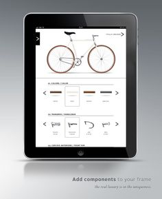 Italia Veloce  Bike configurator by Pier Sandro Cancellara, via Behance
