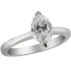 770e59682ec244 1.01ct marquise diamond solitaire engagement ring set in platinum. Designed  & manufactured by Avanti