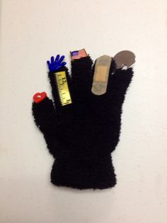 """5 Finger prayer :    Great hands on visual for teaching kids the """"5 Finger prayer""""   Heart - family and friends Rulerhand button - my teachers Flag- leaders of my country Bandaid - the sick and the hurting Mirror disc - myself last"""