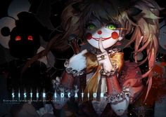 Risultati immagini per fnaf sister location fanart Fnaf 5, Anime Fnaf, Fanarts Anime, Fnaf Song, Sister Location Baby, Five Nights At Freddy's, Five Nights At Anime, Friday Nights, Freddy S