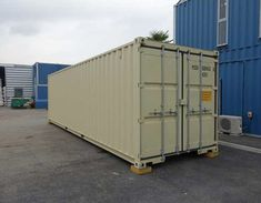 Shipping container hire for all purposes and needs. UK delivery on shipping containers for hire, contact our friendly team today. Small Shipping Containers, 40ft Shipping Container, 40ft Container, Container Cabin, Cargo Container, Self Storage, Storage Spaces, Locker Storage, Container Conversions