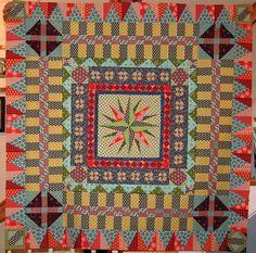 Absolutely stunning medallion quilt | Flickr - Photo Sharing!