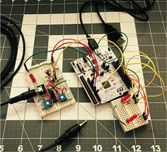 Teaching electronics with microcontrollers