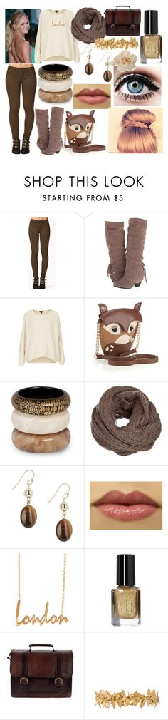 """ellis"" by nothing-better-than-a-riddle ❤ liked on Polyvore featuring Forever 21, Naughty Monkey, Topshop, Accessorize, MOOD, Betty Jackson, ASOS, Bobbi Brown Cosmetics, Beara Beara and Eugenia Kim"