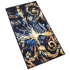 @Brittany Horton Rose North LOOK!!!  ThinkGeek :: Doctor Who Exploding TARDIS Rugs.... They have the TARDIS too! =D